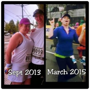 Evylyn Running 2013 and 2015